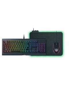 Pack gaming Razer Holiday: Teclado Cynosa Chroma + Raton Abyssus Essential + Alfombrilla Goliathus Chroma