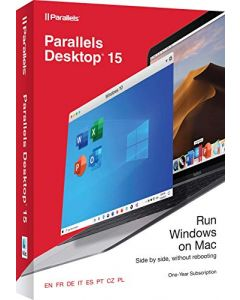 Parallels Desktop® 15 para Mac - SUBSCRIPCION 1 AÑO - Run Windows on mac
