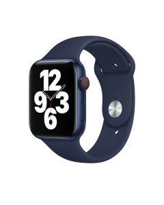 Apple Correa Deportiva Azul Marino Intenso 44mm para Apple Watch