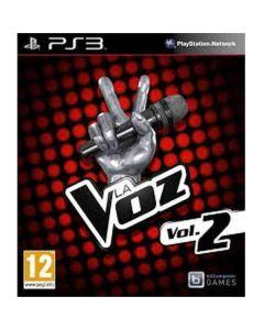 Video Juego LA VOZ Volumen 2, para SONY PS3 Play Station