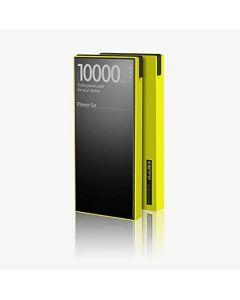 bateria 10000mAh resistente agua conector lightning pequeño roce, verde