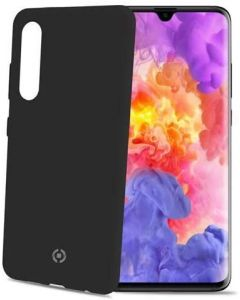 Funda Huawei P30 Negro anti deslizante soft touch Celly Feeling848BK
