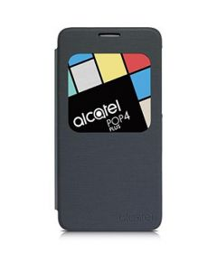 Funda Alcatel POP 4 FLIPCASE negro Volcano