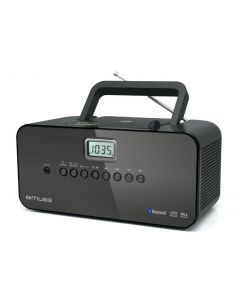 radio CD Muse M-22 BT Bluetooth Streaming desde smartphone o tablet Caja Abierta