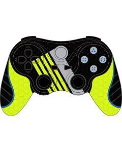 Mando Juegos Gaming Gioteck Cable Vx3 Sport Edition (PS3) verde fosforo Embalaje Abierto