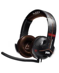 auriculares 7.1 Thrustmaster Y-350X DOOM Edition panel control  PC/Xbox One