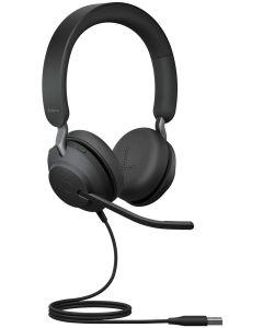 Auriculares Jabra Evolve2 40 Cancelación Ruido Tecnología 3 Micrófonos USB