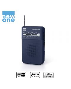Radio Bolsillo FM Muse New-One R206 a pilas altavoz aux in