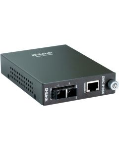 convertidor optico de red D-LINK DMC-810SC de ethernet a 2x optico Caja Abierta