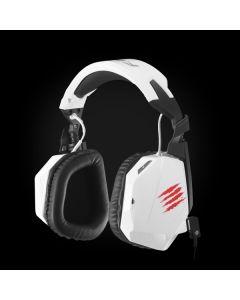 Auriculares Mad Catz FREQ 3 Gaming Blanco para PC, Mac y Wii U