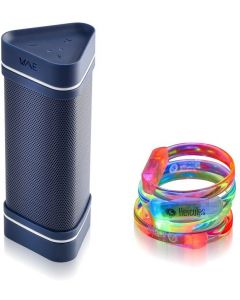 Hercules WAE OUTDOOR 04 PLUS Party Pack Bluetooth resiste agua 5 Pulseras LED interactivas