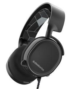 auriculares SteelSeries Arctis 3 gaming 7.1 Surround micrófono Negro PS4 XBOX VR