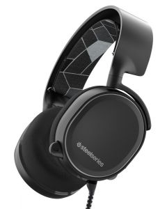 auriculares SteelSeries Arctis 3 gaming 7.1 Surround micrófono Negro PC PS4 XBOX VR