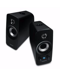 Altavoces Creative T15 Bluetooth HIFI tecnologia BasXPort. Embalaje abierto