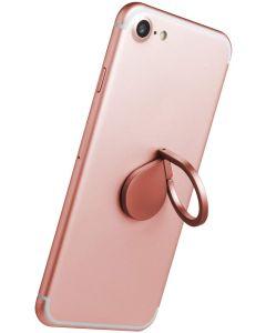 soporte movil Aro Celly Ring Drop Anillo Universal Color Oro Rosa