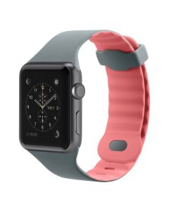 correa deportiva Apple Watch 38mm F8W729BTC01 gris y rosa