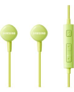 Auriculares Samsung estéreo 3,5 mm con micro y control volumen verde Caja Abierta