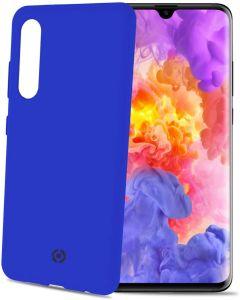 Funda Huawei P30 Azul anti deslizante soft touch Celly Feeling848BL