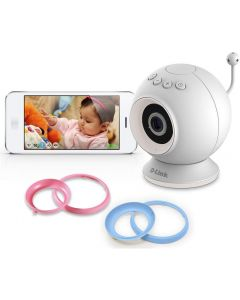 camara vigila bebes IP D-Link DCS-825L EyeOn Wi-Fi HD micro y detector mov. Caja Abierta