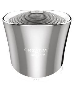 Altavoz Bluetooth Creative Labs woof 3 diseño Plata gran sonido