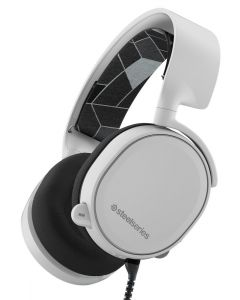 auriculares SteelSeries Arctis 3 gaming 7.1 Surround micrófono Blanco  PC PS4 XBOX VR