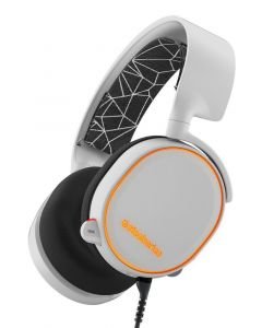 Auriculares SteelSeries Arctis 5 Gaming luz RGB DTS X 7.1 Surround PC Mac PS4 Xbox Android iOS VR BLANCO