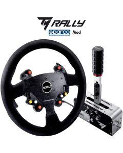 Thrustmaster TM Rally Race Sparco Mod Volante y Palanca Freno con Cambio Secuencial