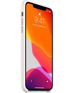 Apple Funda Silicona ORIGINAL para el iPhone 11 Pro MAX Blanco