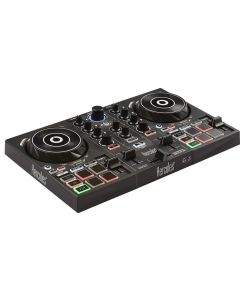 mesa mezclas Hercules DJControl Impulse 200 Start Easy Mixer Embalaje Abierto