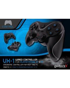Gioteck VX-1 PS3 y PC mando juegos ergonomico Embalaje Abierto