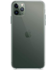 Funda Apple iPhone 11 Pro Max ORIGINAL Silicona  transparente EMBALAJE Abierto