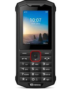 smartphone Crosscall Spider-X4 2,4p 64GB Dual SIM IP68 3G+ Negro