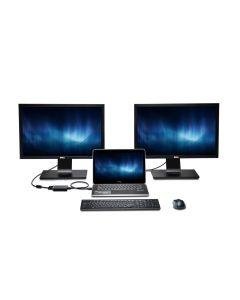 Adaptador 2x monitores FullHD PC y MAC video Kensington K33974EU DVI VGA USB3