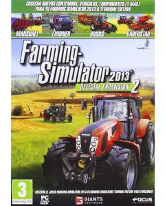 Juego para PC Farming-Simulator 2013. Official Expansion 2
