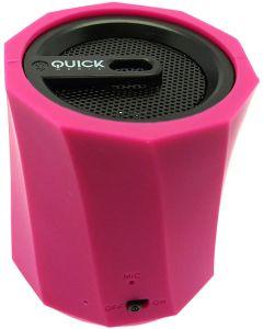 Altavoz Portátil Bluetooth Potente Sonido y reducido tamaño Silicona Rosa