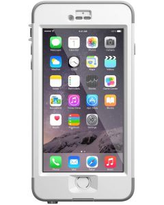 Funda Apple iPhone 6 Plus Color Blanco LifeProof Nuud Caja Abierta