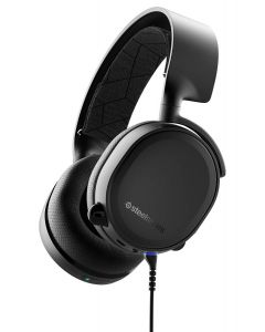 auriculares SteelSeries Arctis 3 Bluetooth y Cable para PC/PS/Xbox/Android Negro