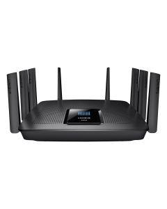 router Linksys Gigabit MU-MIMO wifi TRIbanda AC5400 Max-Stream EA9500 Roce Estetico