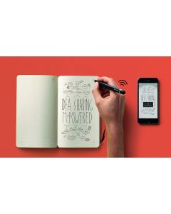 Moleskine Smart Writing Cuaderno Digital+Bolígrafo Android/iOS/Win EMBALAJE ABIERTO