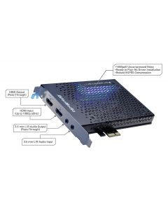 Capturadora AverMedia LiveGamer HD2 1080p 60Hz PCIe EMBALAJE ABIERTO