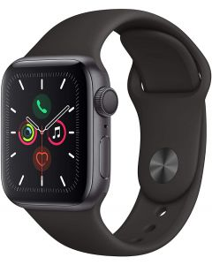 Apple Watch Series 5 40mm GPS Space Gray Black Sport  A2092 MWV82TY/A