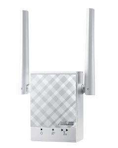 Repetidor Extensor WiFi ASUS RP-AC51 AC750 Doble Banda LAN Punto Acceso Embalaje Abierto