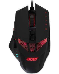 Acer Nitro Raton Gaming 4000DPI Negro y Rojo LEVE raya en carcasa