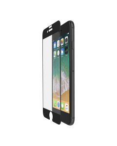 protector Apple iPhone 8 Plus y 7 Plus negro COMPLETO cristal templado