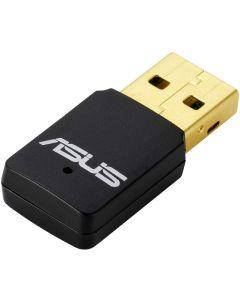 tarjeta wifi ASUS USB-N13 Adaptador USB inalámbrico Dual-Band AC600 WPS