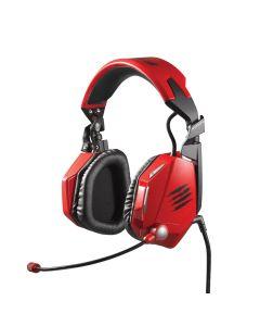 Auriculares Mad Catz F.R.E.Q. 7 Gaming Sonido Surround 7.1 Rojo