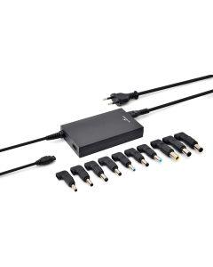 cargador universal 100W compacto Bluestork 10 voltajes y puerto USB Embalaje Abierto