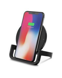 Base Carga Inalambrica Qi VERTICAL Smartphones Qi Boost Up 10W Negra