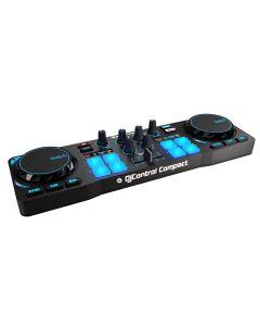 mesa mezclas Hercules DJ Control Compact Doble Deck Embalaje Abierto