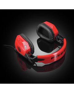Auricular Mad Catz FREQ 3 Gaming rojo, altavoces neodimio Embalaje Abierto